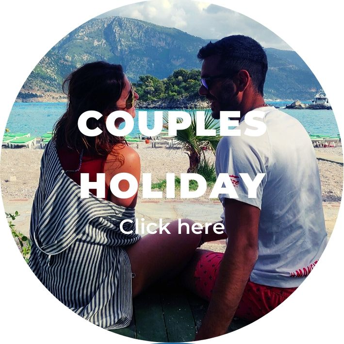 couples holidays luke & romy in turkey