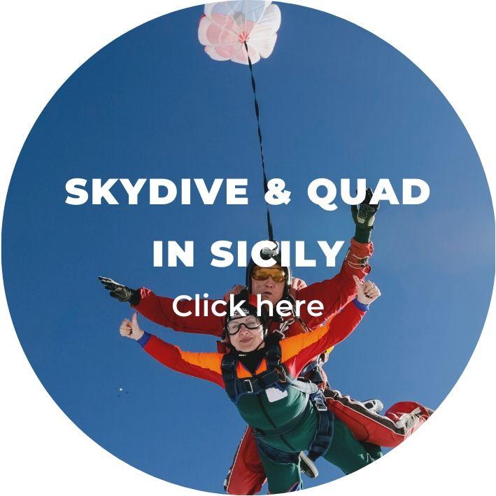 skydiving & quad bike adventure in sicily