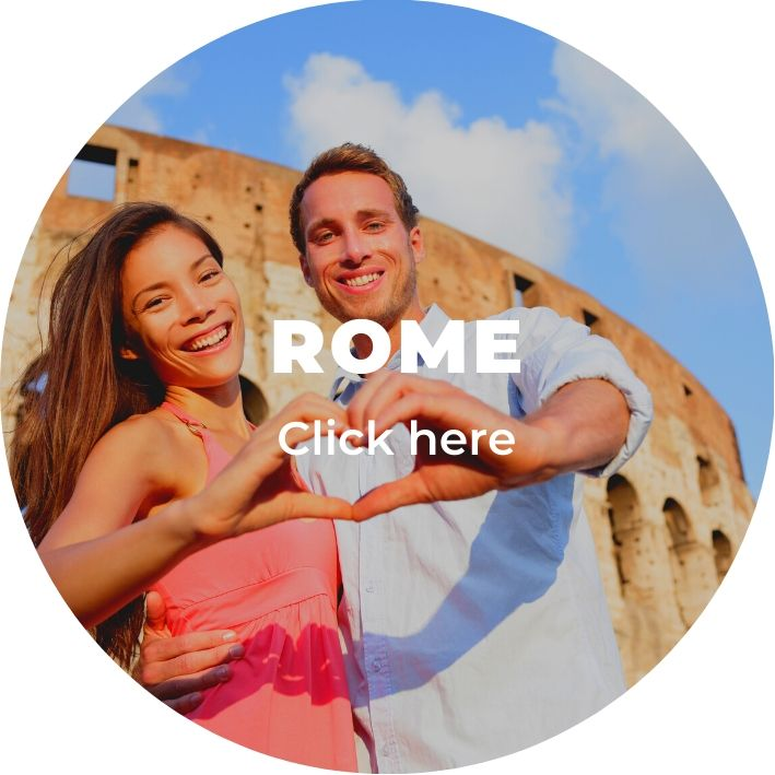 Rome on a romantic getaway