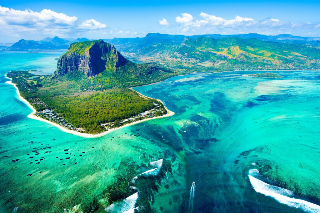 Tours in Mauritius - Arial View
